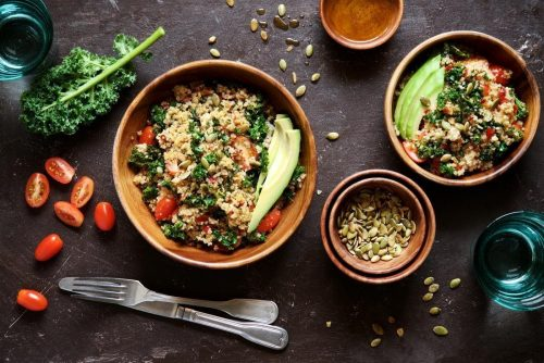 quinoa-salad-with-kale-cherry-tomatoes-and-pumpkin-seeds-healthy-nutritious-vegetarian-and-vegan-meal