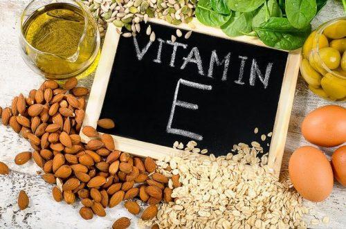 vitamin e tri sẹo rỗ