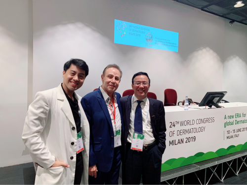 Bác sĩ - dược sĩ Trương Ngọc Huy và đối tác