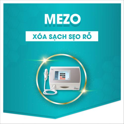 Điều trị sẹo rỗ bằng phương pháp Mezo
