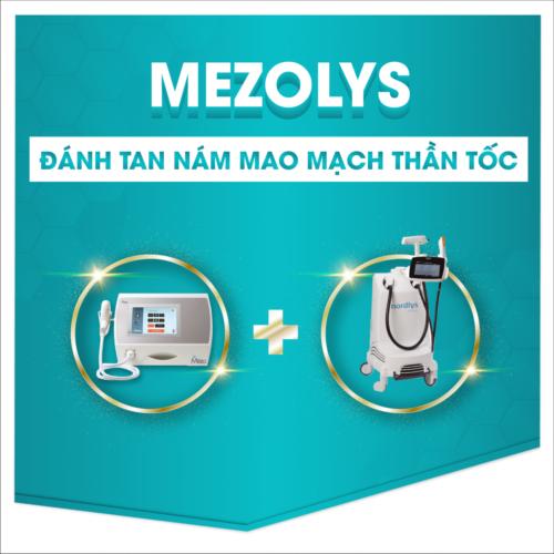 Điều trị nám tàn nhang bằng phương pháp MEZOLYS